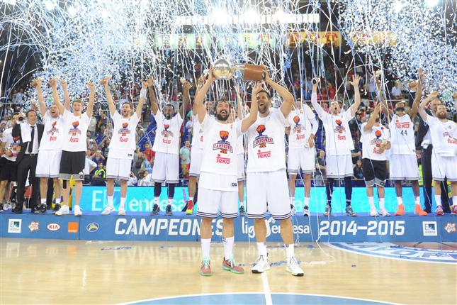 Real Madrid Sweep FC Barcelona to Win ACB Championship