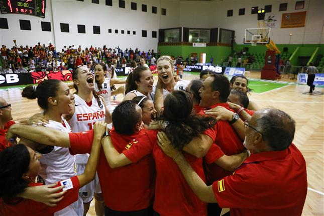 Spain Wins U20 European Championship Women
