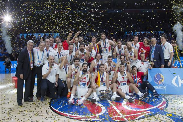 Spain Earns Yet Another Eurobasket Gold Medal – 80-63 Over Lithuania