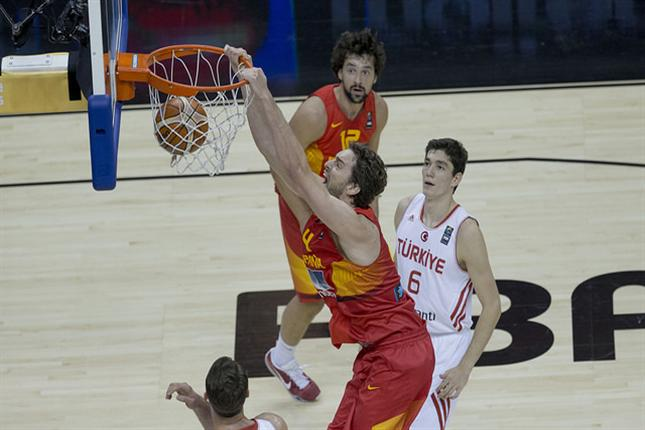 Spain Bounces Back With Big Win Over Turkey 104-77