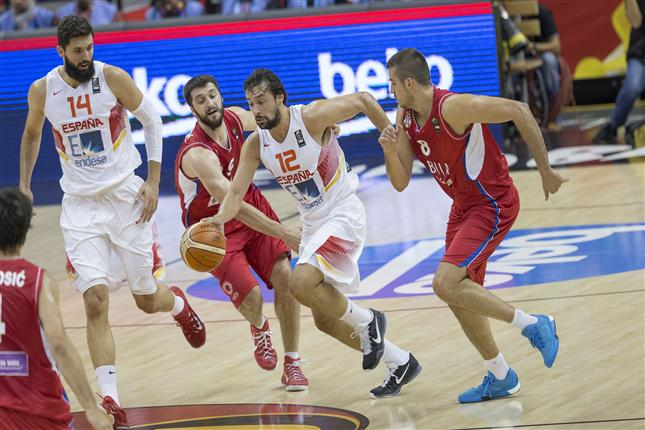 Spain's Loses Eurobasket Opener With Poor Shooting
