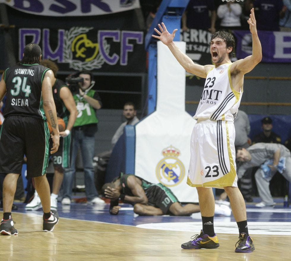 Sergio Llull Makes 3 Pointer Past Half Court In Buzzer Beater Against Valencia