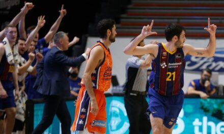 Abrines gives a class from the triple in Valencia and Barça …