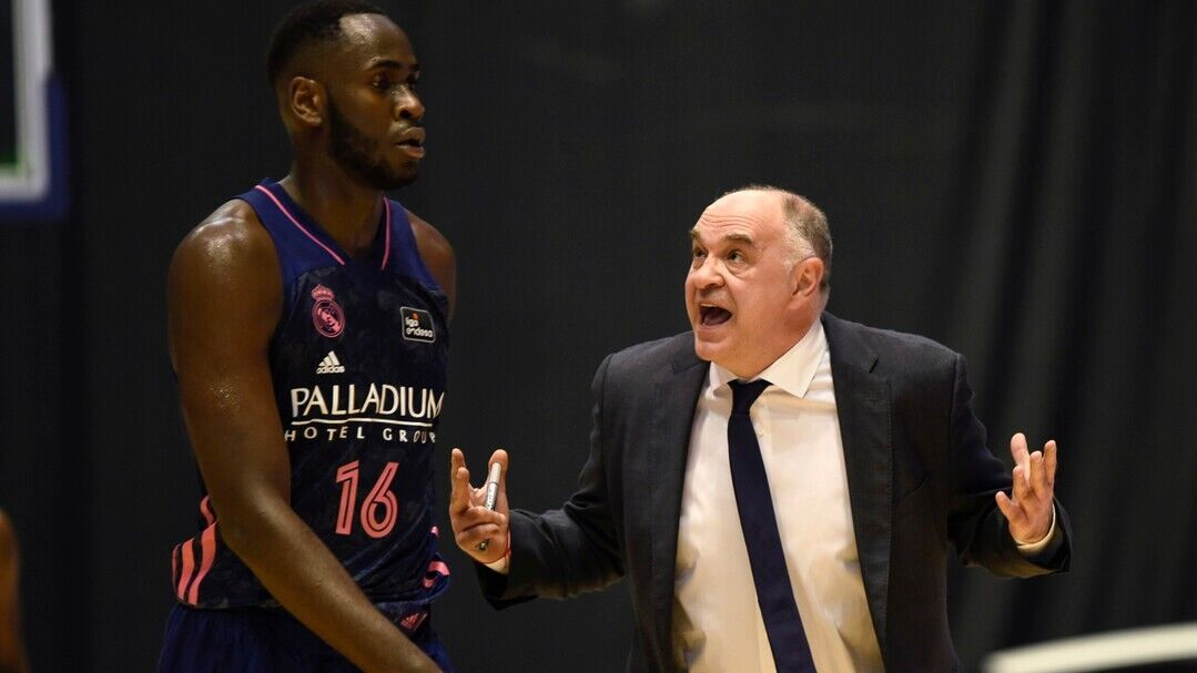 """Pablo Laso: """"Garuba, 19 years old and 100 games for Madrid. Co …"""