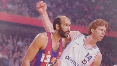 Granville Waiters, former player of Barcelona and Caj …