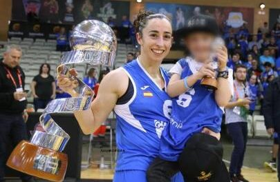 Silvia Domínguez, the challenge of being a mother being an athlete of …