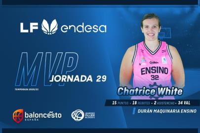 J.29: Chatrice White and the spell of an MVP emerged from the …