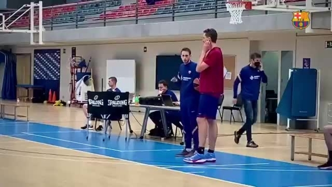 The image that excites Spanish basketball: Pau Gasol is already …