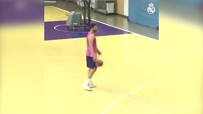 The lessons of the teacher Felipe Reyes to the youth squad Vukcevic …