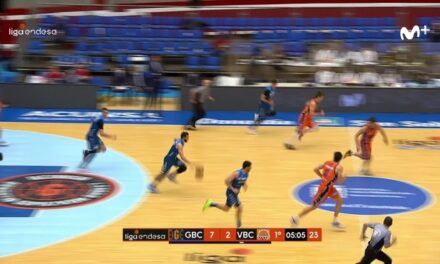Okouo and Radoncic take advantage of the passivity of Valencia Basket