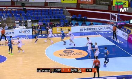 Obradoiro comes back against Acunsa GBC and takes air for the …