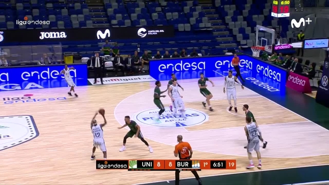 McFadden and Rivero destroy Unicaja and add Burgos