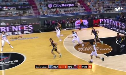 Giedraitis and Baskonia bandage Efes's wound before …