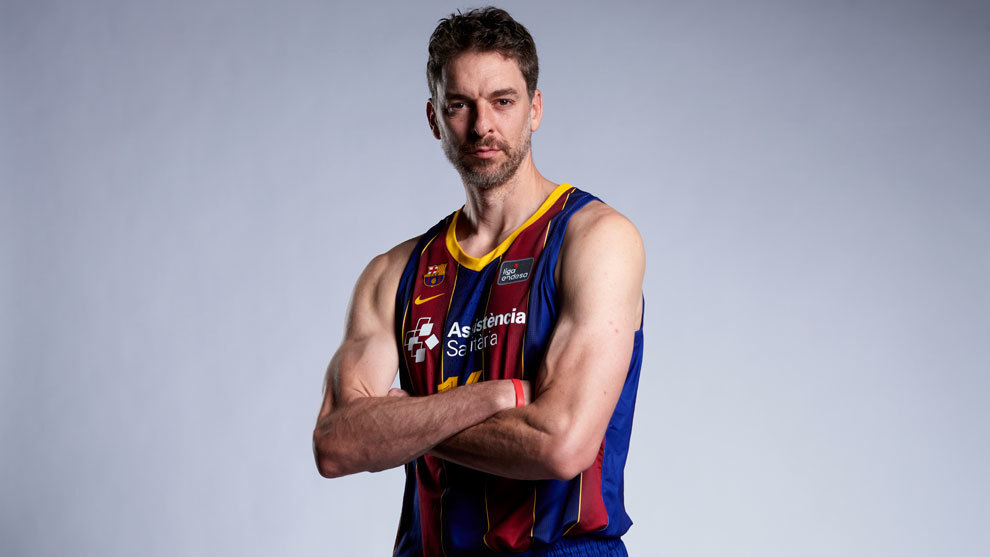 The ACB prepares for the premiere of Pau Gasol with his photos …
