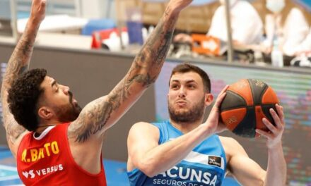 Taylor gives the fourth win in a row to UCAM Murcia and Gipu …