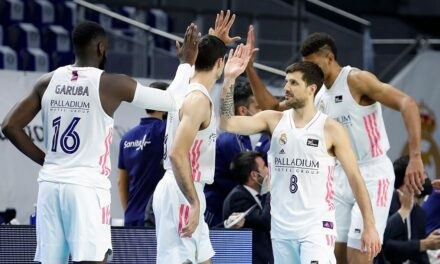 A Real Madrid touched in Europe and a record in the ACB