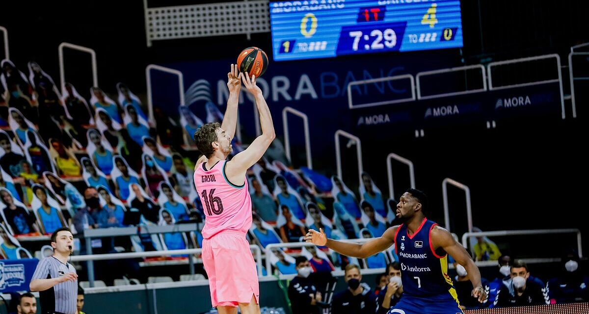 Gasol and Bolmaro rescue a Barça with their heads on …