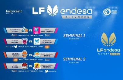 The #PlayoffsLFEndesa define their quarter-finals qualifiers …