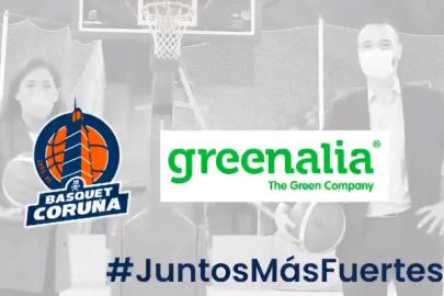 Greenalia will collaborate with Básquet Coruña in its …