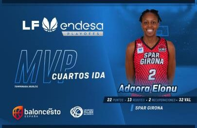 Quarters – First leg: Adaora Elonu and the return of the MVP of the great …