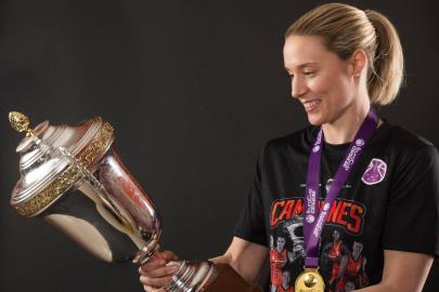 "Anna Gómez: ""It's incredible, we are European champions"""