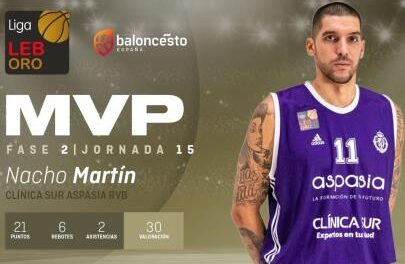 F.2 – J.15: Nacho Martín, an MVP at the right time and needed …
