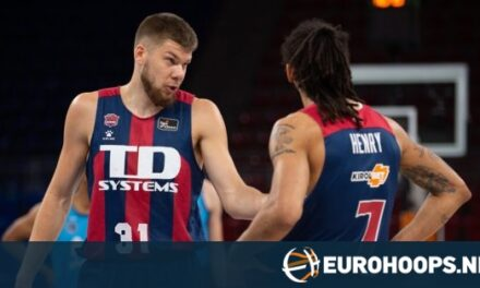Giedraitis posts season-high 34 points, Baskonia beats Estud…