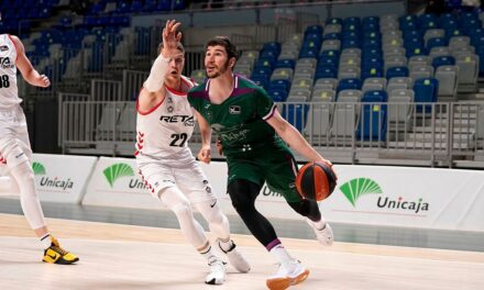 The Brizuela explosion rescues Unicaja against Bilbao