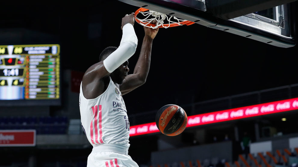 Colossus Usman Garuba looks into the top 15 of the draft with his m …