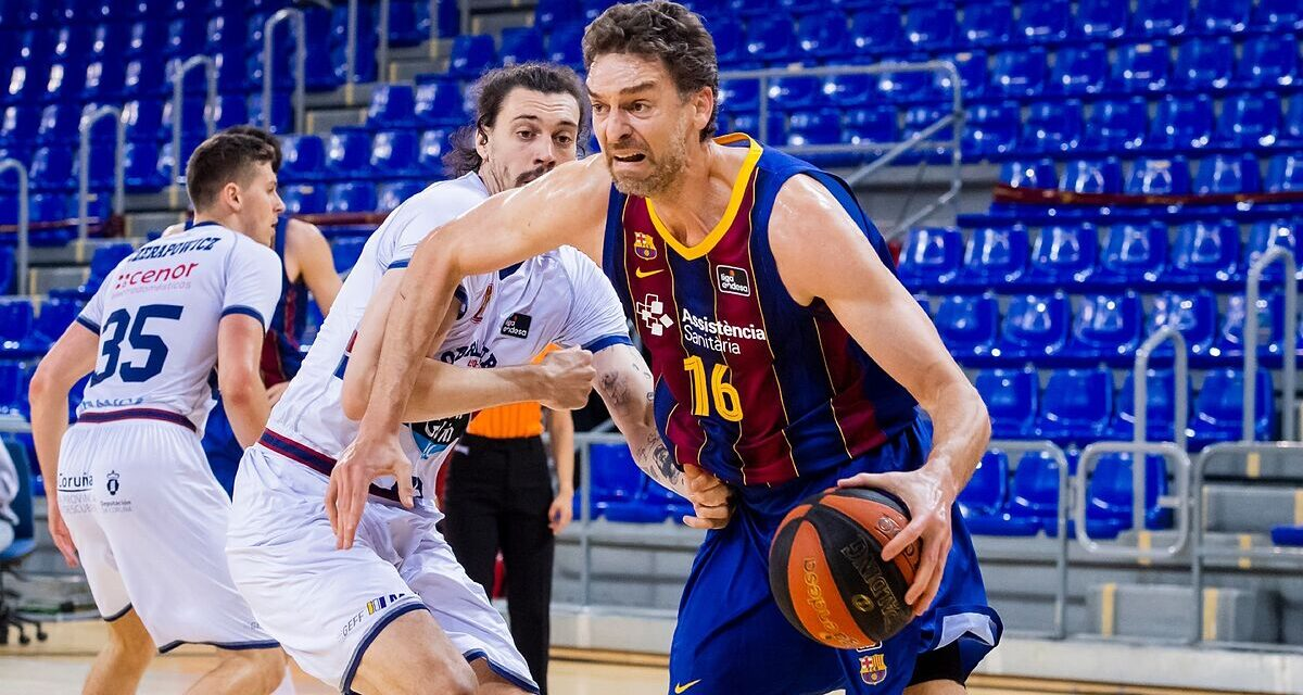 Pau Gasol picks up pace and makes Barça and the national team dream