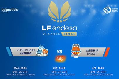Schedules: Perfumerías Avenida vs Valencia BC, a final