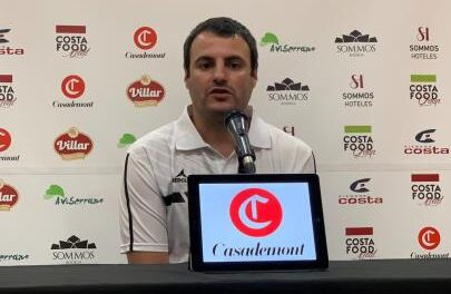 Carlos Cantero, presented as the new Casadem coach …