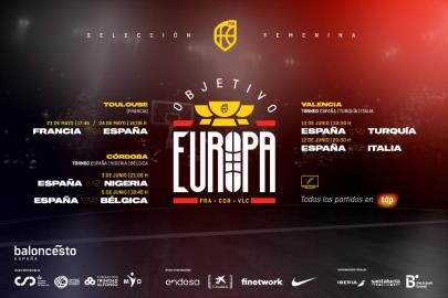 Spain will play six preparation games for the Eurob …