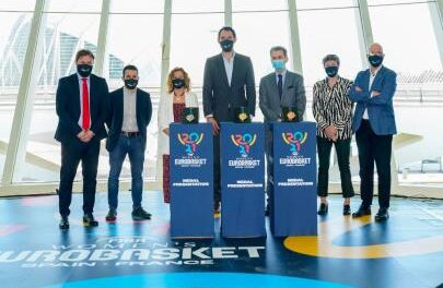 The 2021 Women's EuroBasket in Valencia unveils its medals