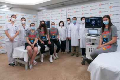 The Women's Selection passes the medical examination at the Fu …