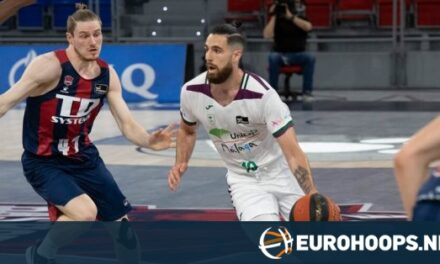 Malaga beats Baskonia to continue playoff push