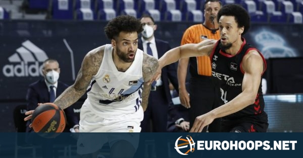 Real Madrid clinches first seed in Spain