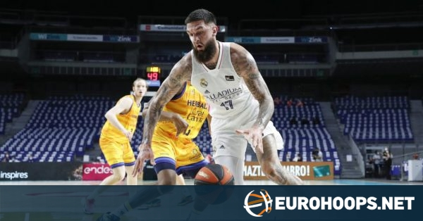Real Madrid routs Gran Canaria in playoff opener