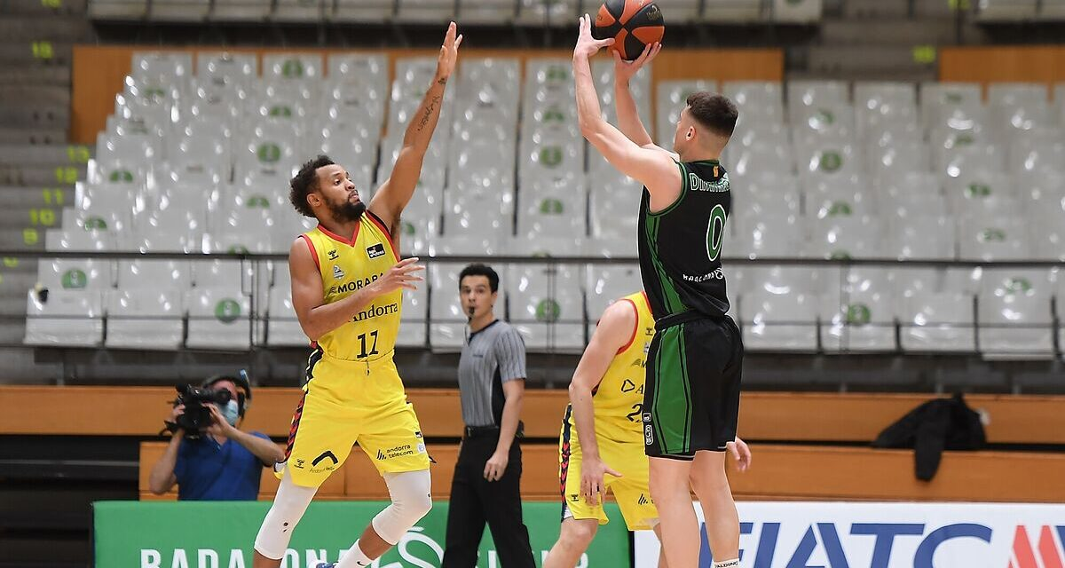 Joventut continues to opt for sixth place and moves away from Andorr …