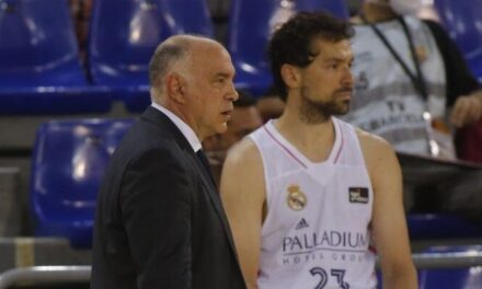 """Pablo Laso: """"As long as he counts on me, I will continue training …"""