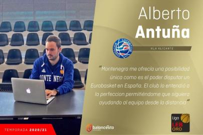 Alberto Antuña, some Playoffs with a Montenegrin accent