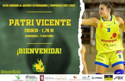 Patri Vicente signs with Alter Enersun Al-Qázeres Extremad …