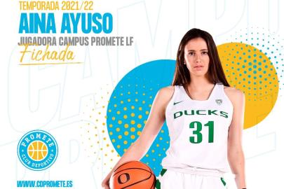 Aina Ayuso, luxury signing for Campus Promete
