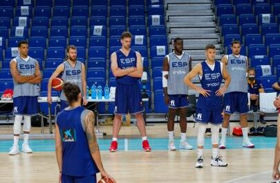 First training sessions to prepare for the Games