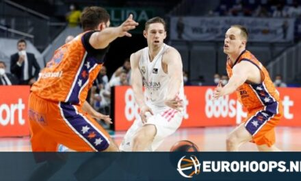 Fabien Causeur and Walter Tavares lead Real Madrid to 1-0 ag…