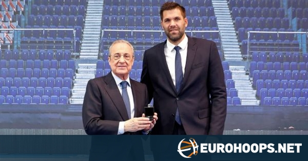 Real Madrid bids farewell to Felipe Reyes with tribute cerem…