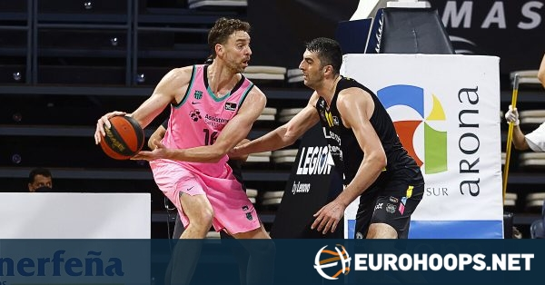 Tenerife fights back to force Game 3 vs. Barcelona