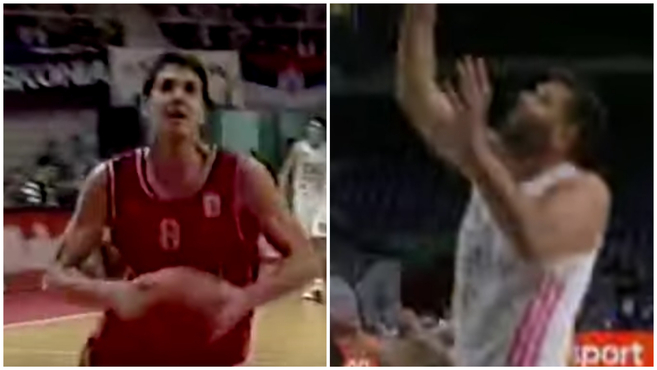 The time tunnel: Felipe R.'s first and last basket