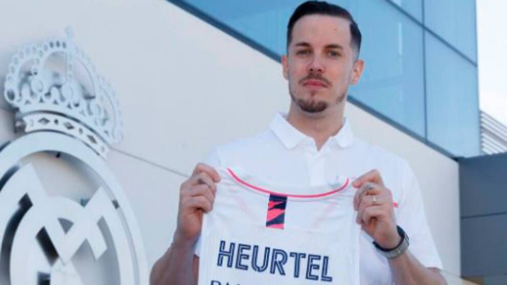 Real Madrid make official the signing of Thomas Heurtel, the …
