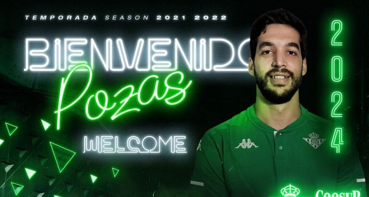 Real Betis sign Pepe Pozas for the next three seasons …
